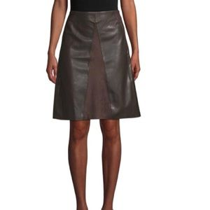 Gorgeous Faux Leather Black Skirt
